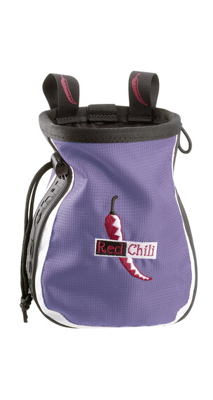 Red Chili Logo chalkbag violet